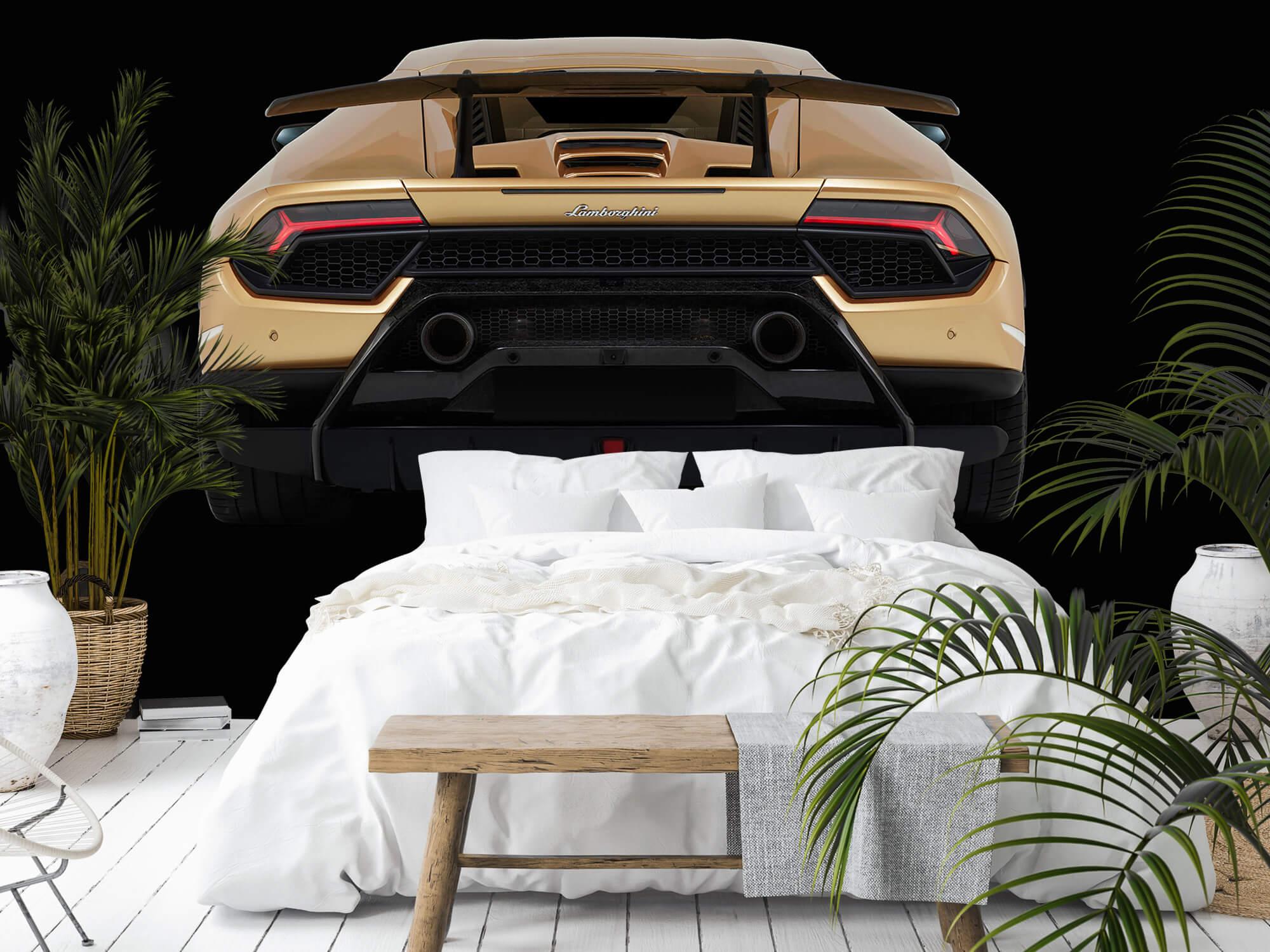 Wallpaper Lamborghini Huracán - Arrière, noir 9