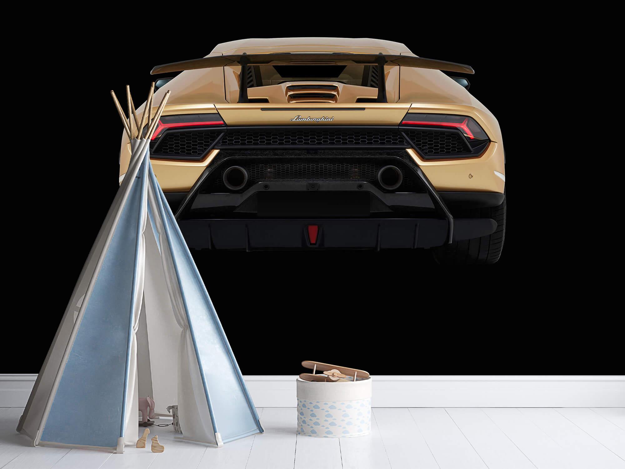 Wallpaper Lamborghini Huracán - Arrière, noir 7