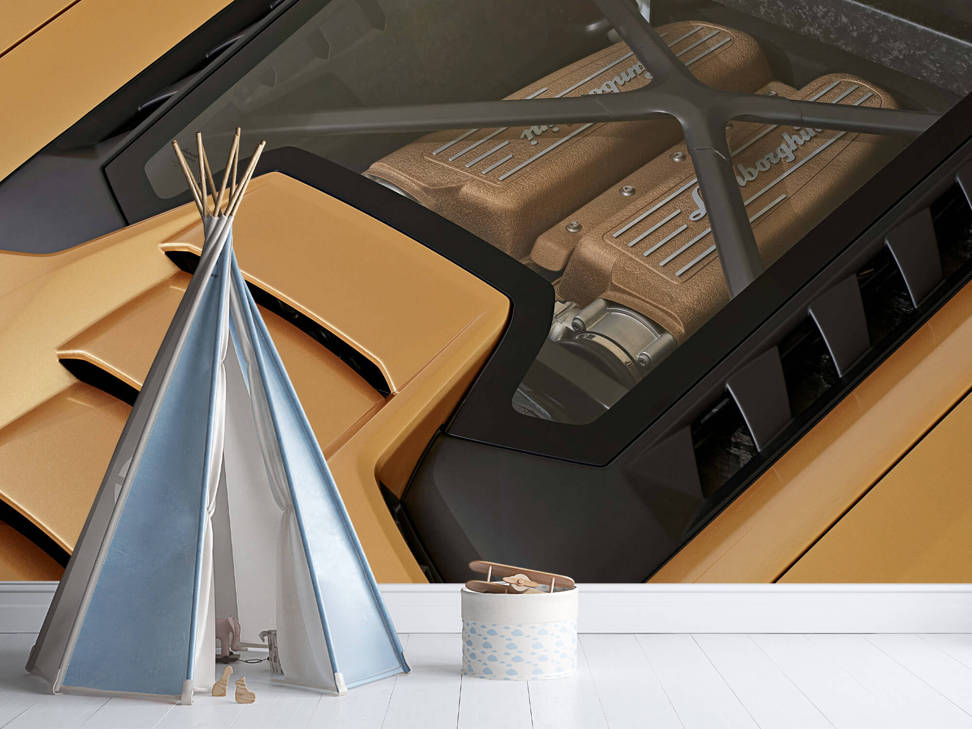 Wallpaper Lamborghini Huracán - Moteur 10