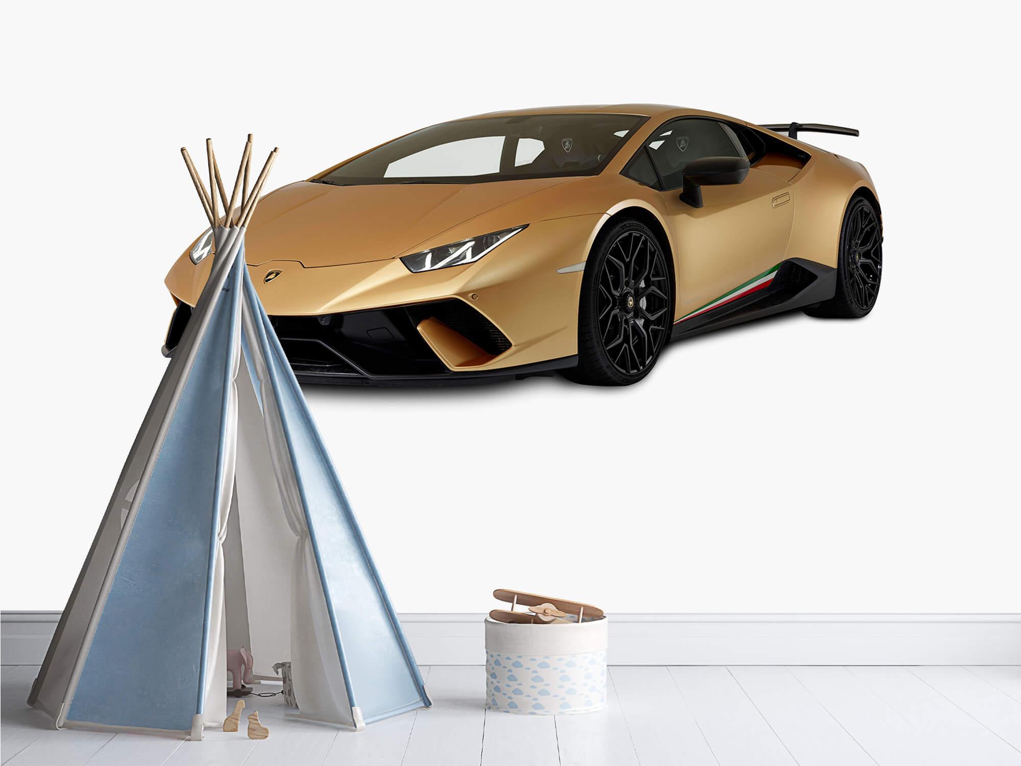 Wallpaper Lamborghini Huracán - Avant droit, blanc 10