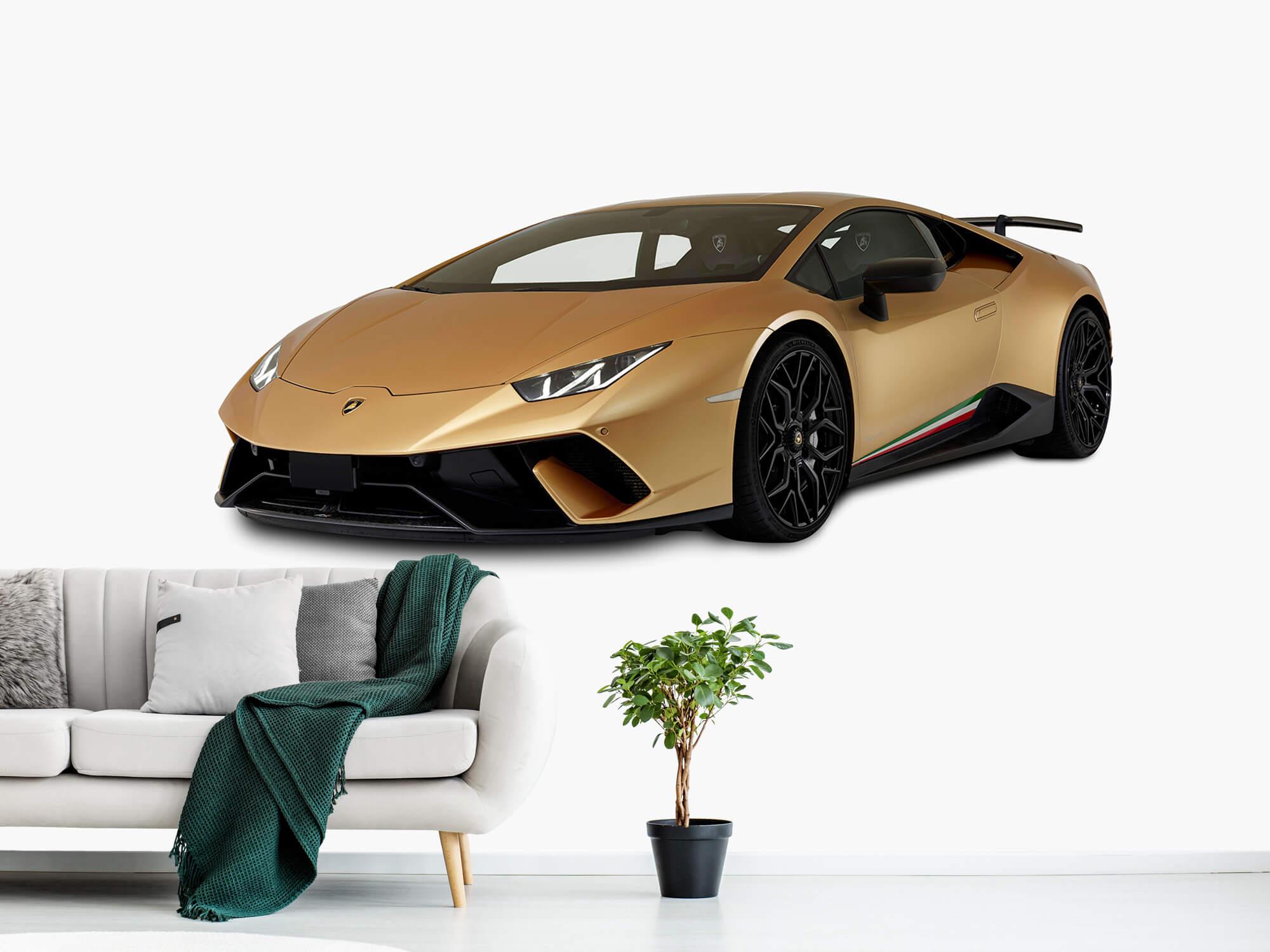 Wallpaper Lamborghini Huracán - Avant droit, blanc 11