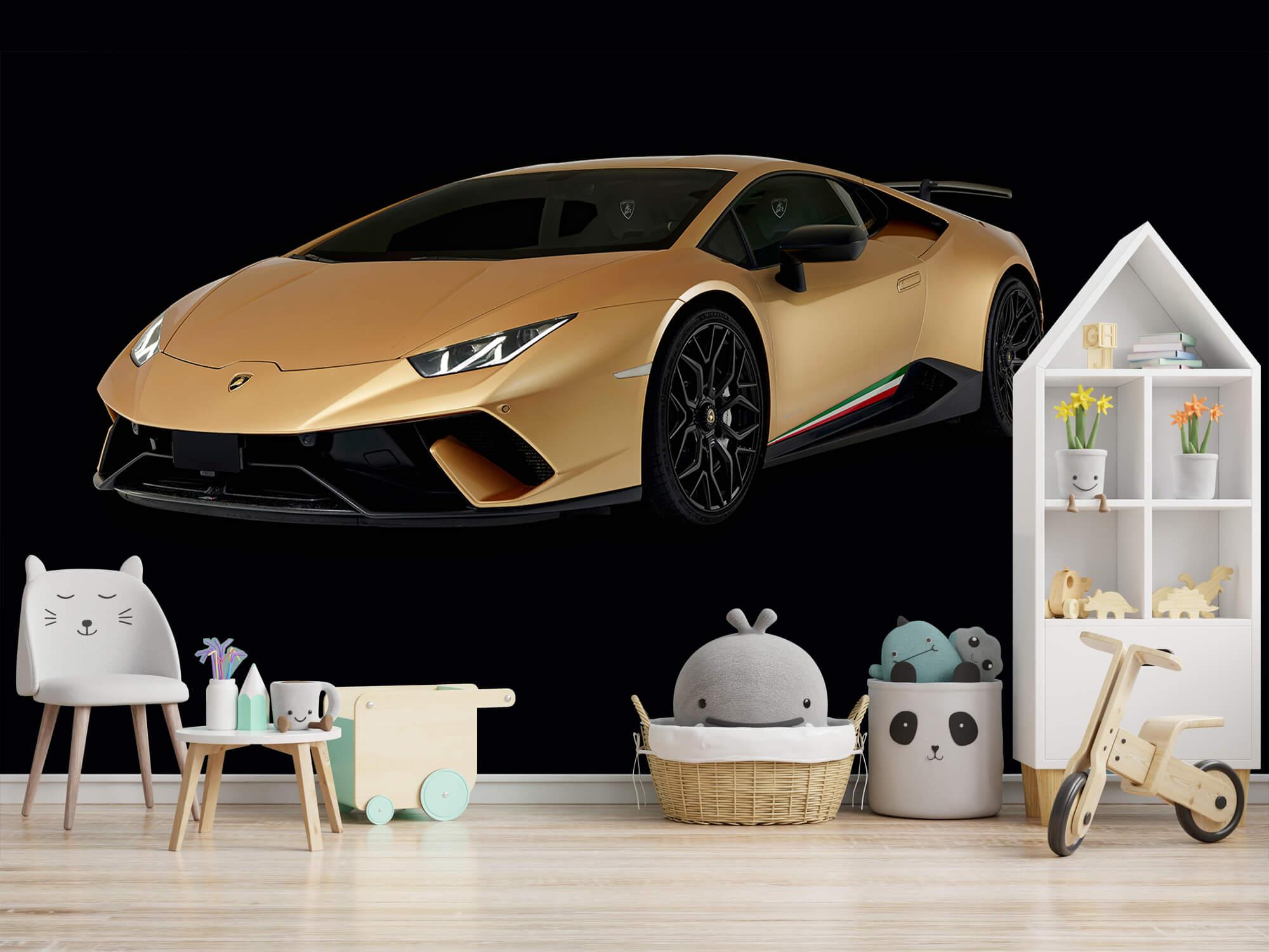 Wallpaper Lamborghini Huracán - Avant droit, noir 2