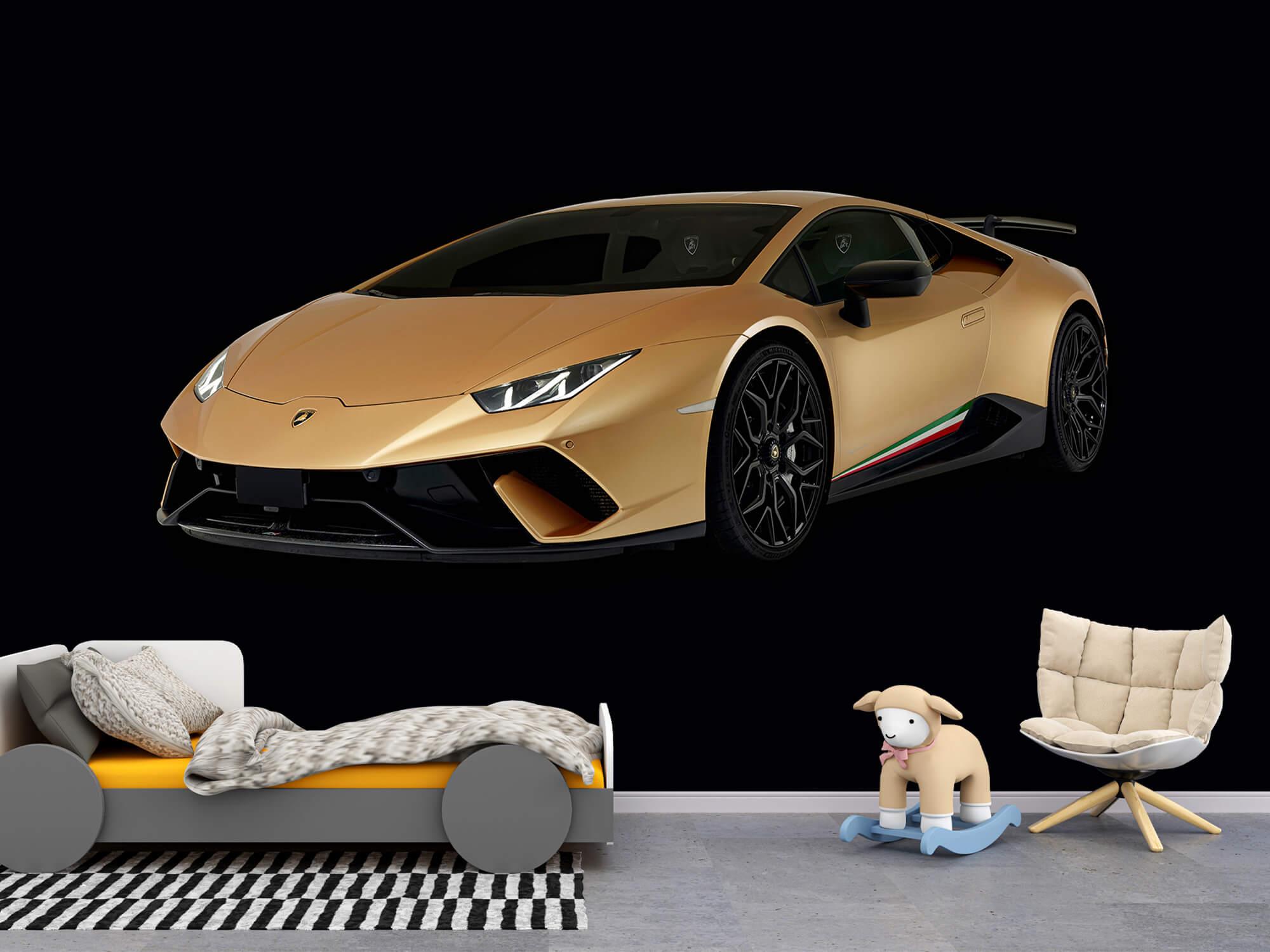 Wallpaper Lamborghini Huracán - Avant droit, noir 9