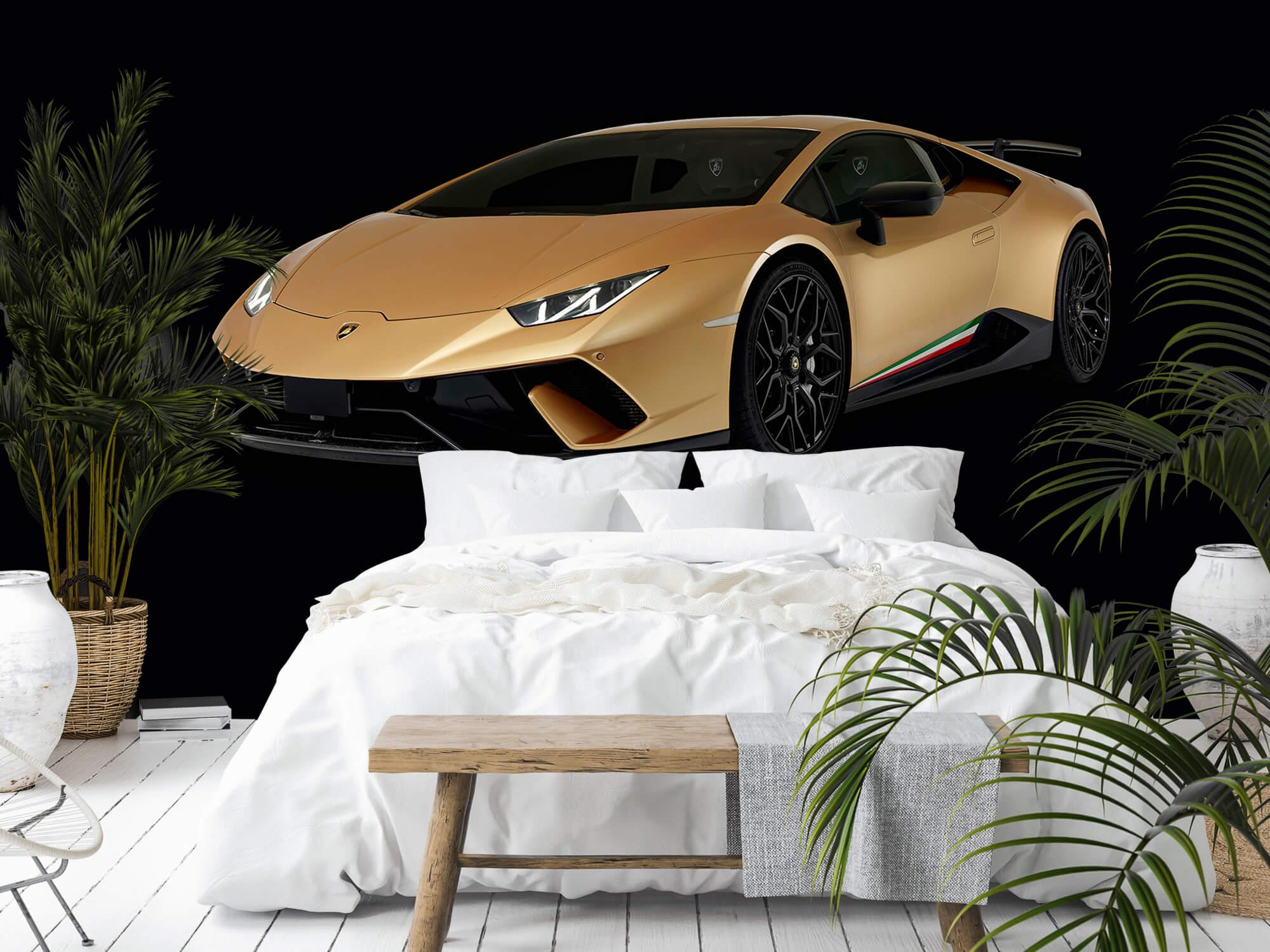 Wallpaper Lamborghini Huracán - Avant droit, noir 11