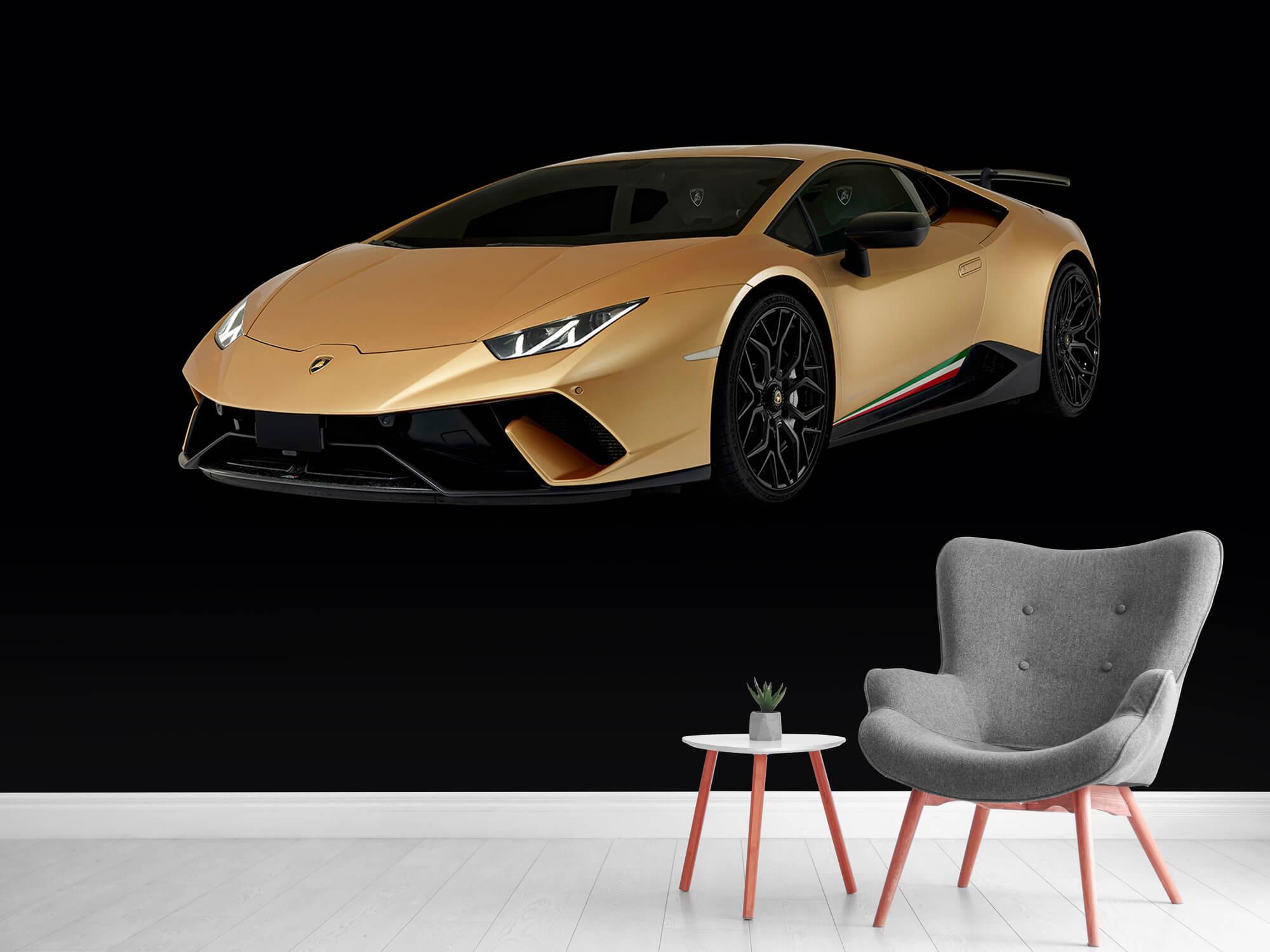 Wallpaper Lamborghini Huracán - Avant droit, noir 5