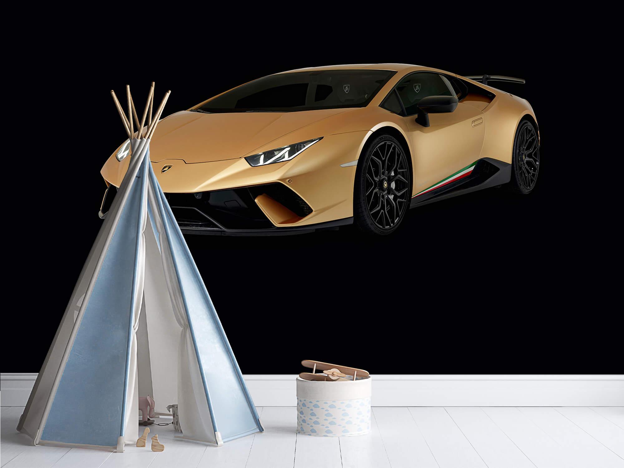Wallpaper Lamborghini Huracán - Avant droit, noir 12