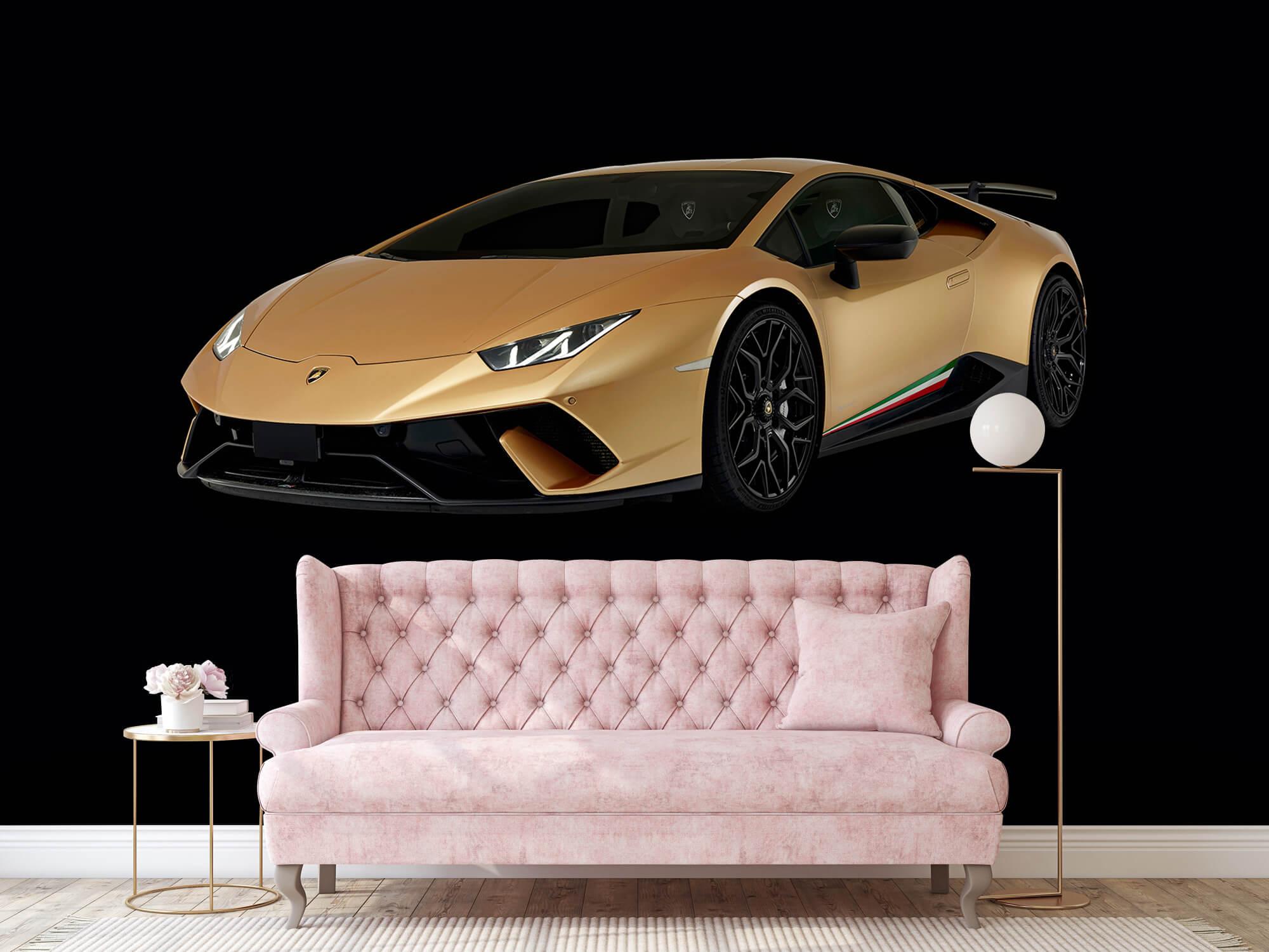 Wallpaper Lamborghini Huracán - Avant droit, noir 13