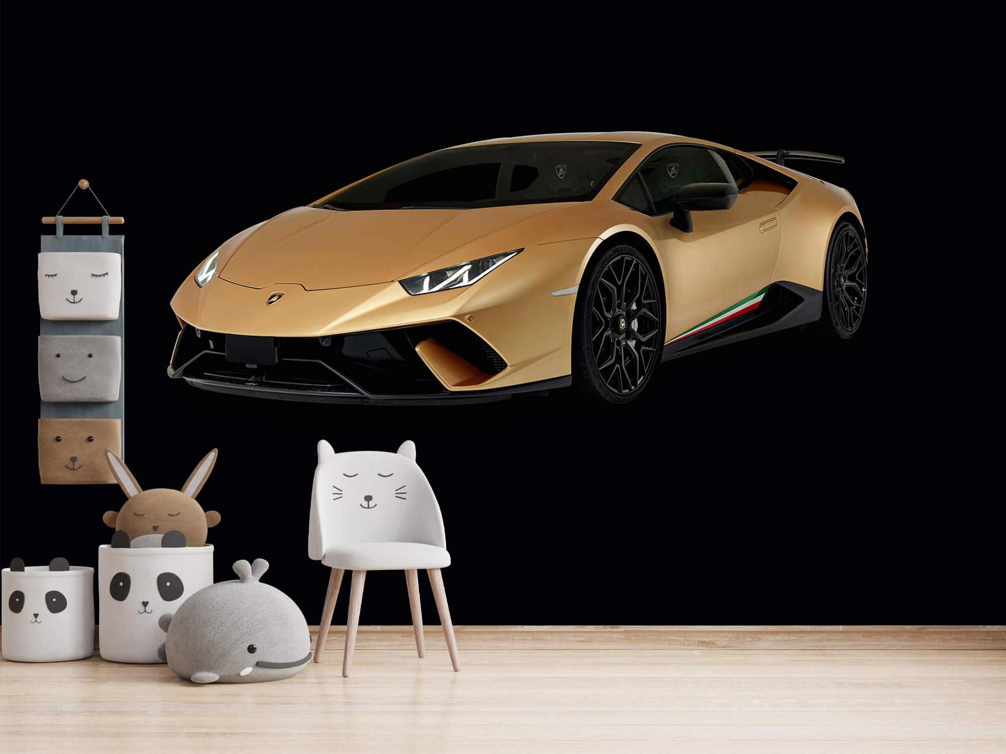 Wallpaper Lamborghini Huracán - Avant droit, noir 14