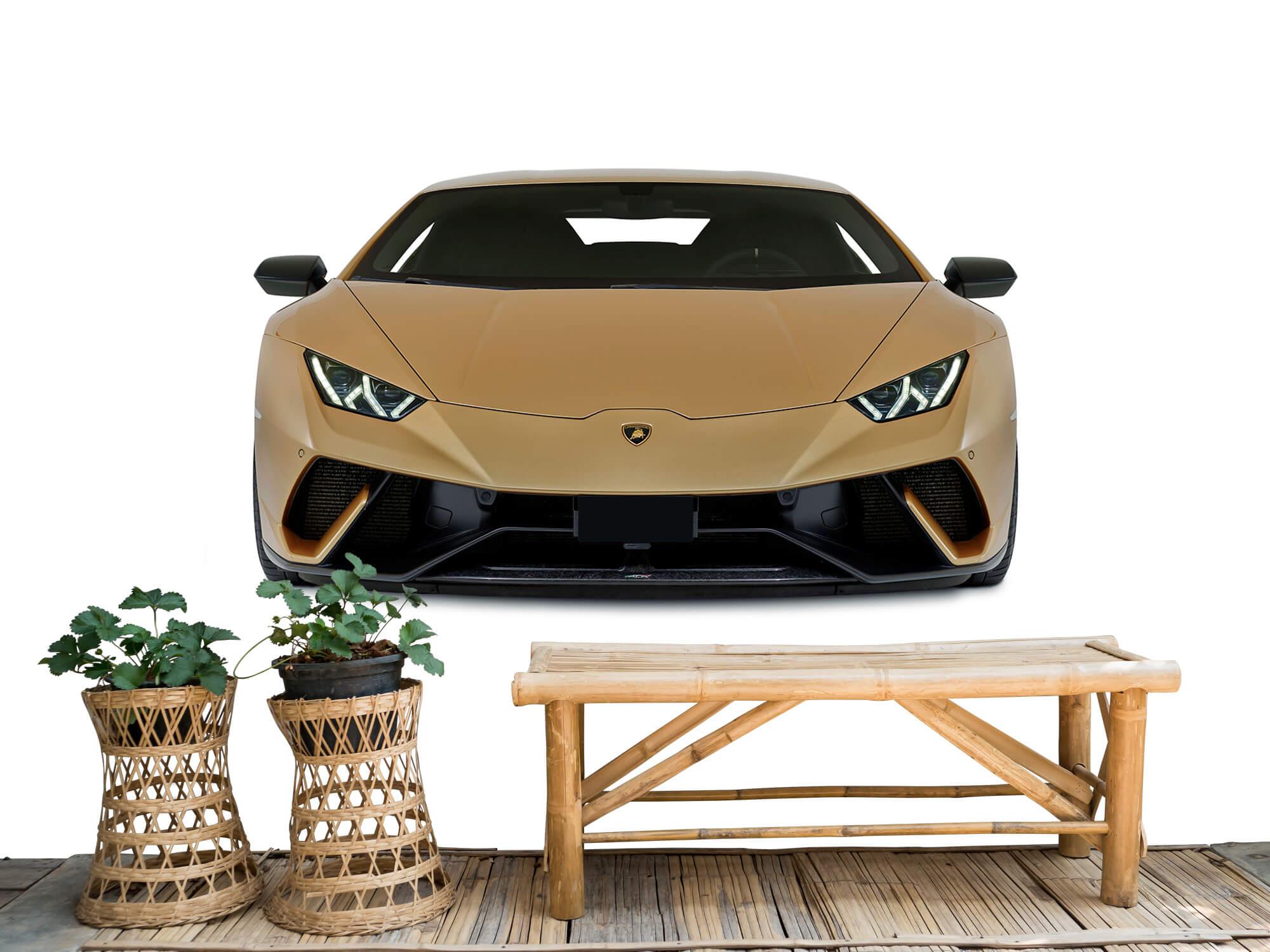 Wallpaper Lamborghini Huracán - Avant, blanc 1