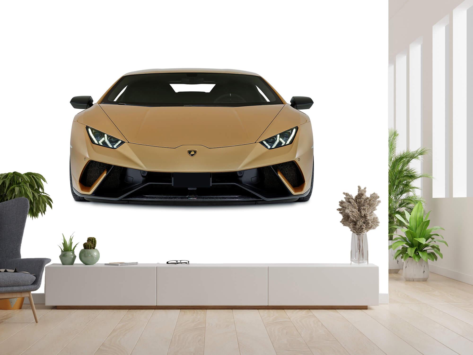 Wallpaper Lamborghini Huracán - Avant, blanc 13