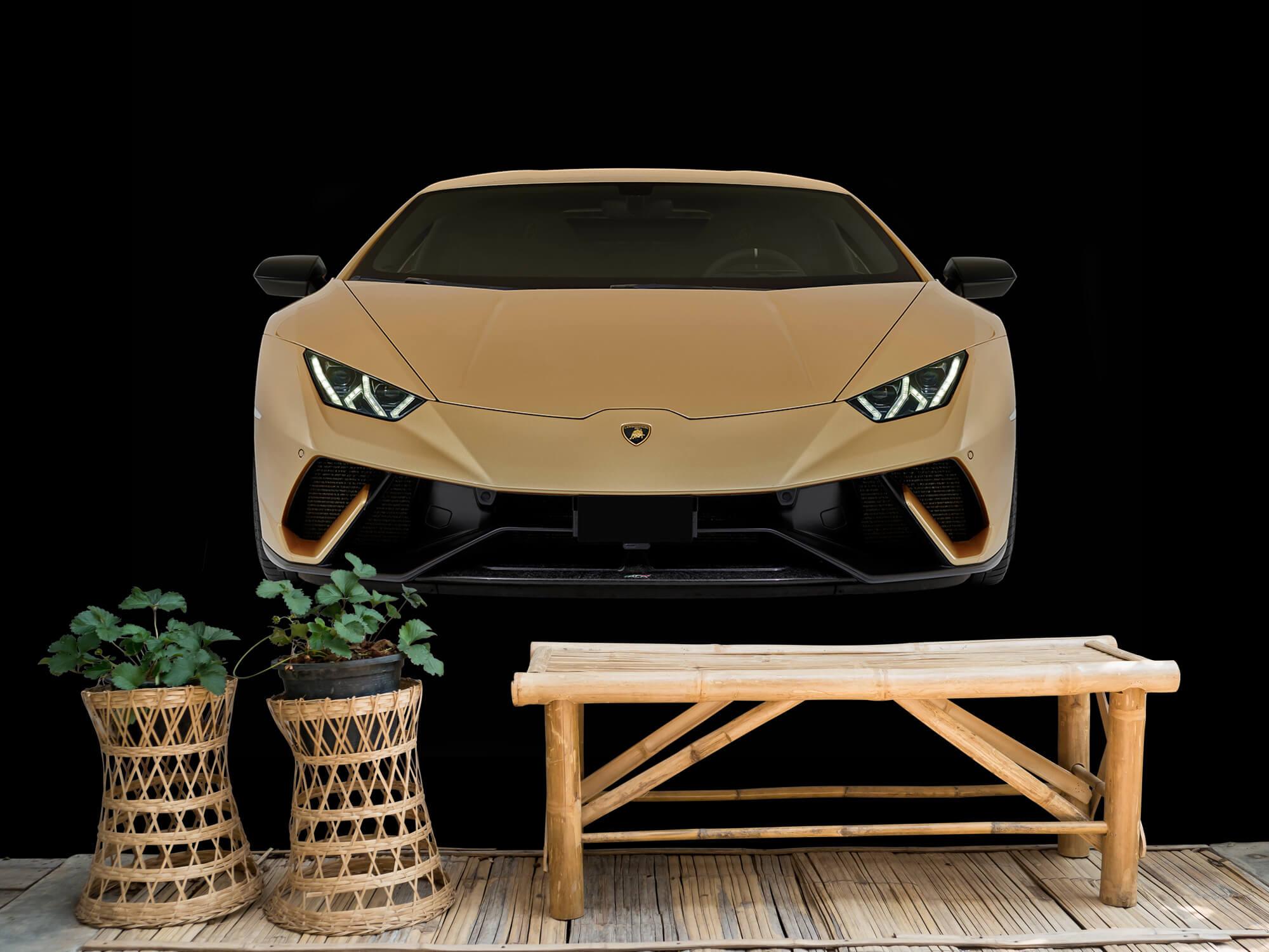 Wallpaper Lamborghini Huracán - Avant, noir 5