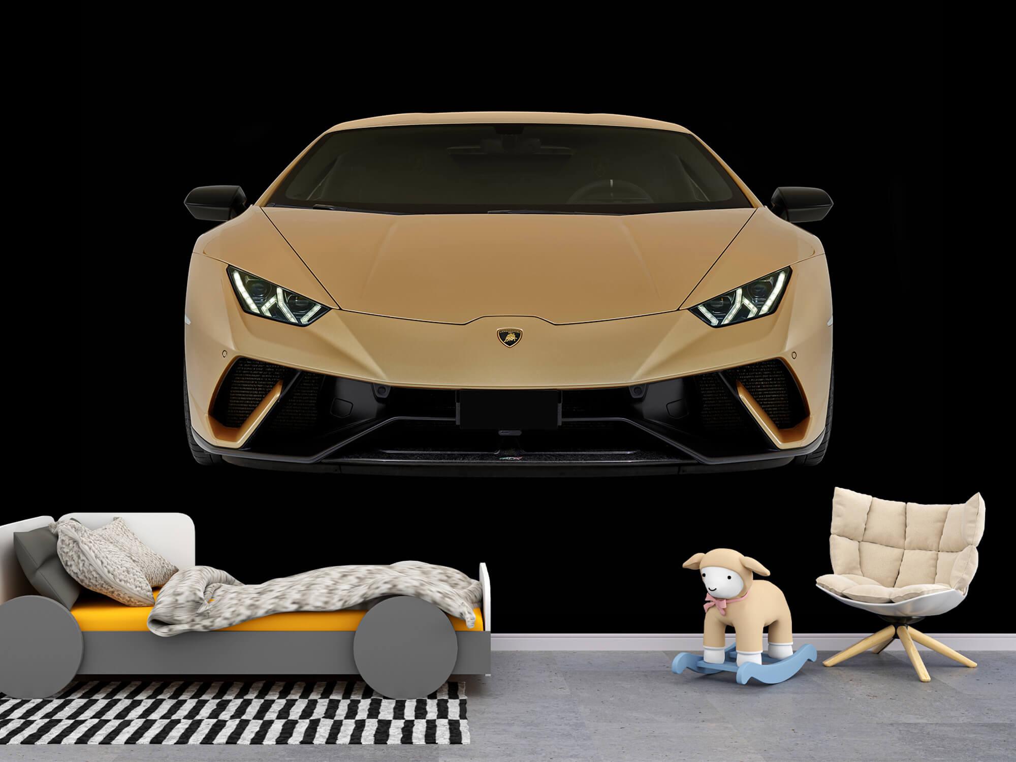 Wallpaper Lamborghini Huracán - Avant, noir 9
