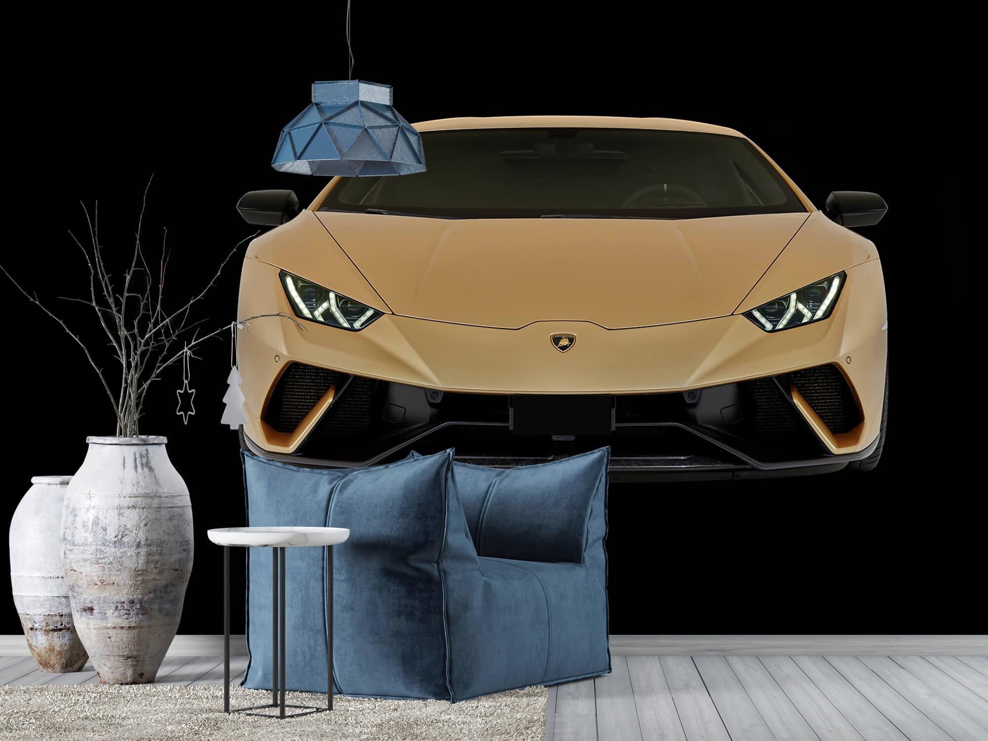 Wallpaper Lamborghini Huracán - Avant, noir 10