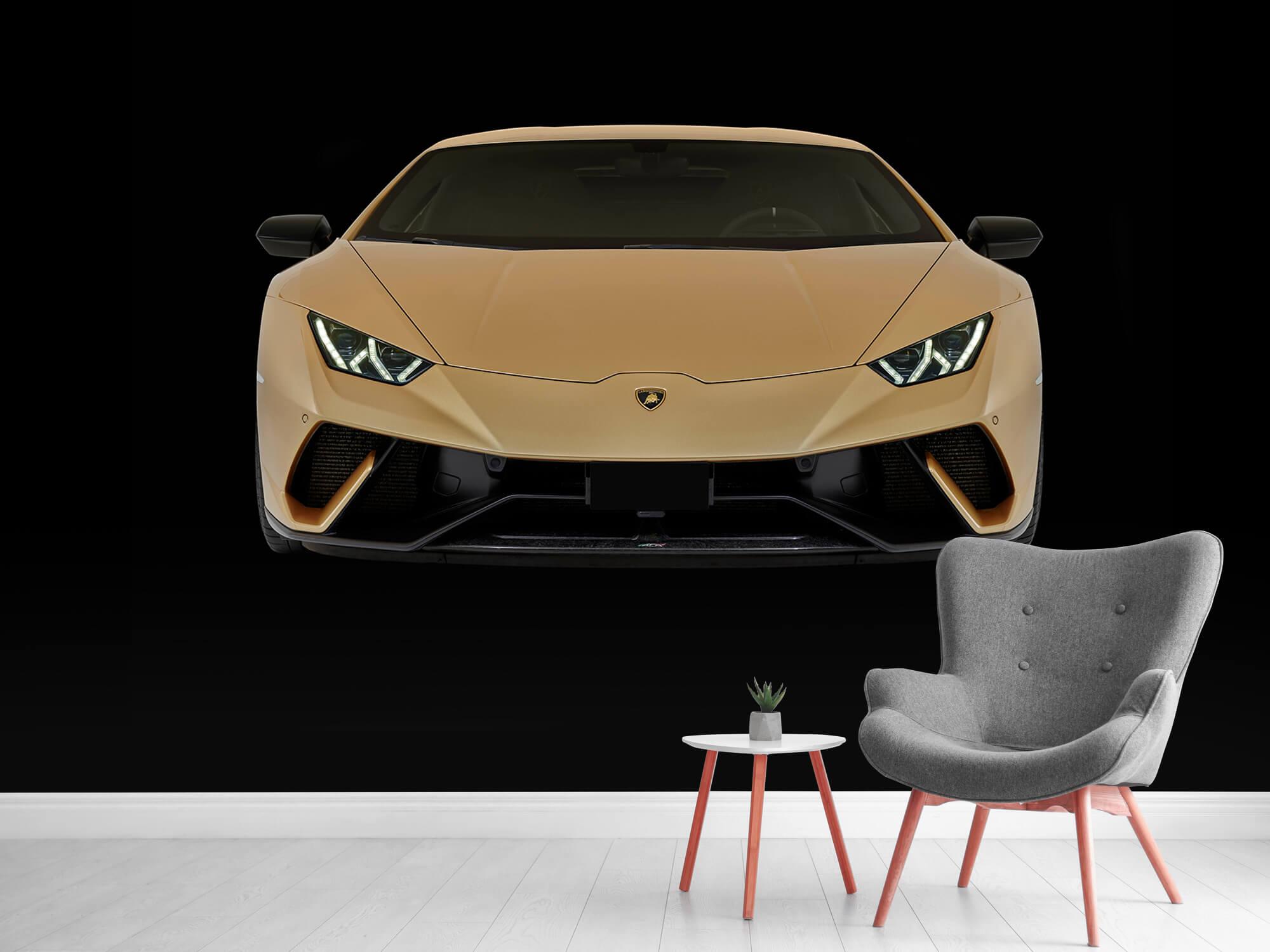 Wallpaper Lamborghini Huracán - Avant, noir 12