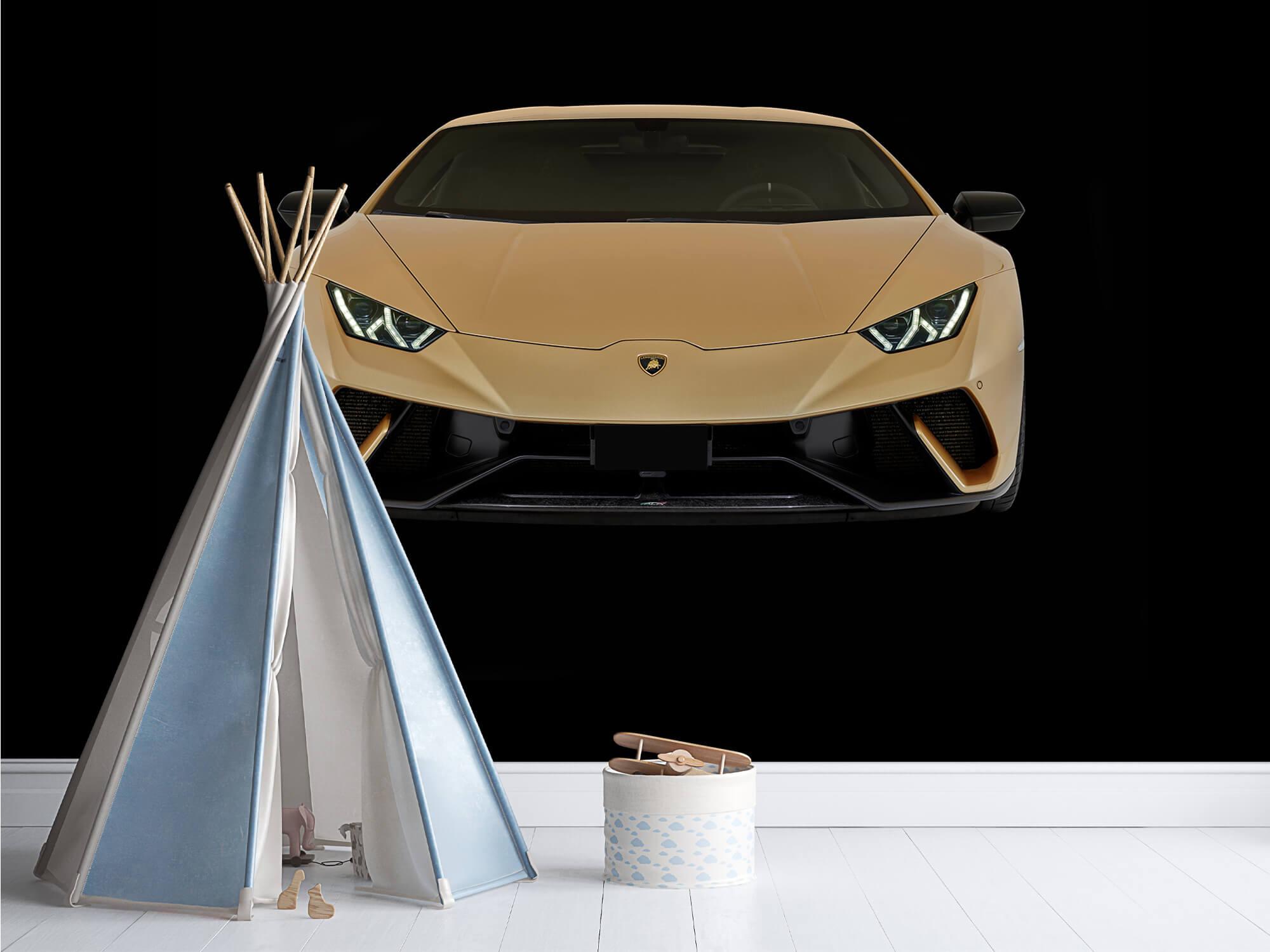 Wallpaper Lamborghini Huracán - Avant, noir 13