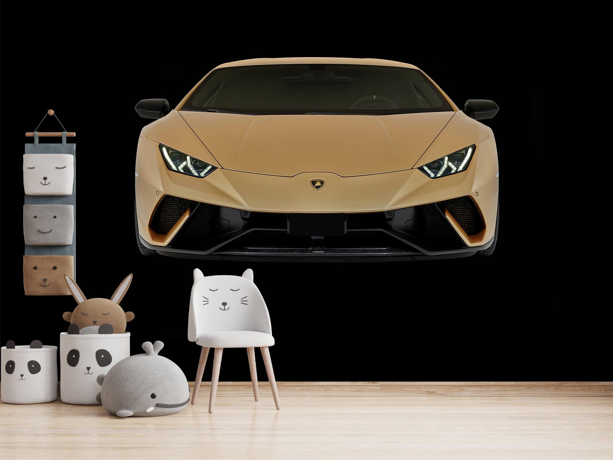 Wallpaper Lamborghini Huracán - Avant, noir 8