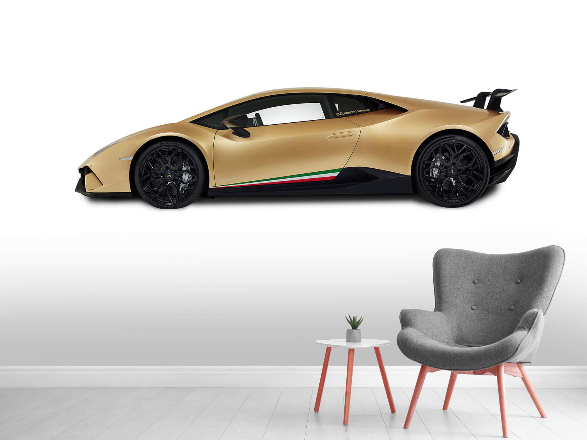 Wallpaper Lamborghini Huracán - Côté, blanc 5