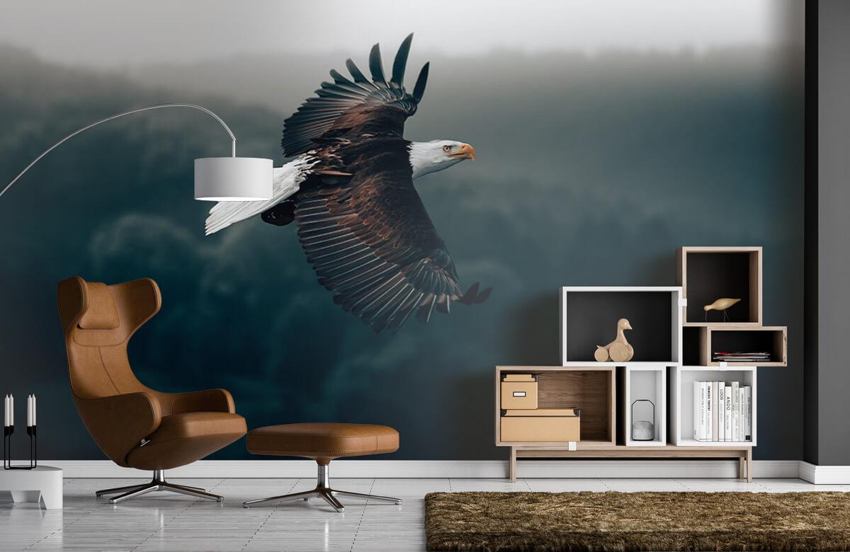 animaux Aigle volant 7