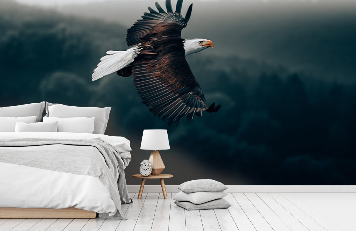 animaux Aigle volant 9