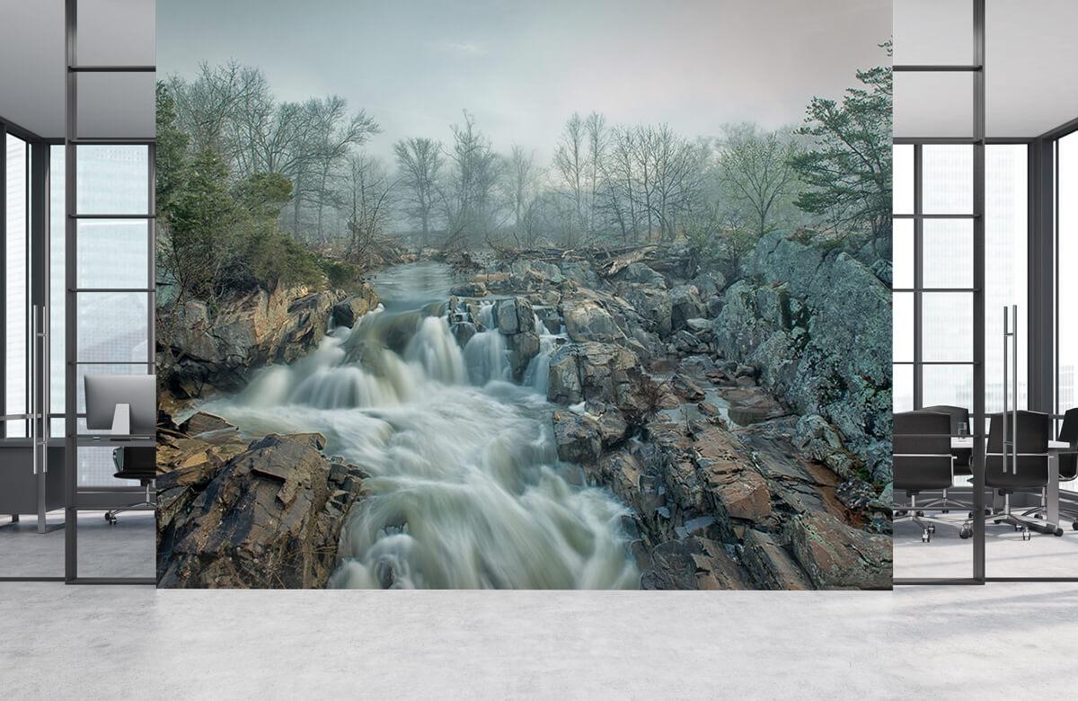 Landscape Dawn at Middle Falls 8