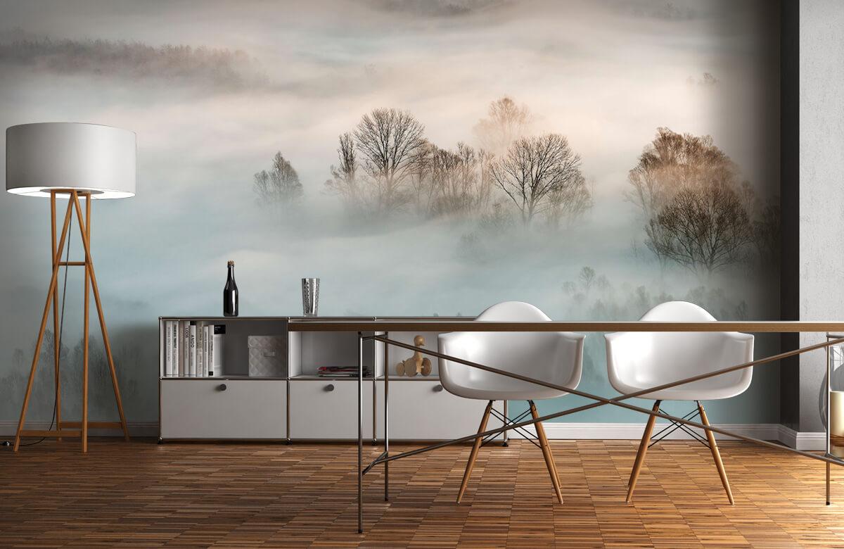 Landschap Winter fog 1