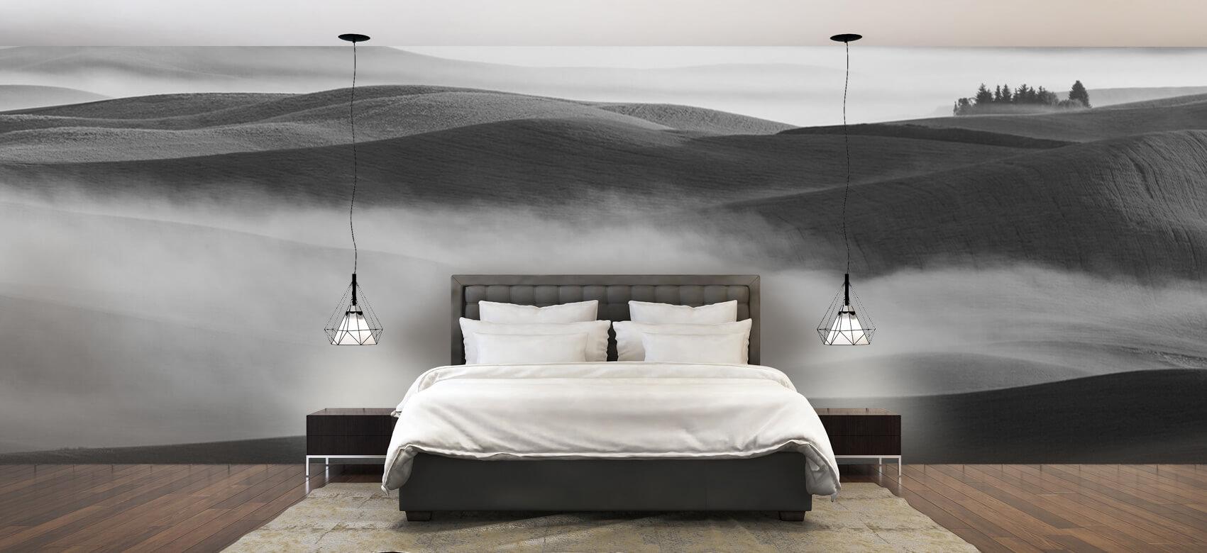 Landschap Dream Land in Morning Mist 2