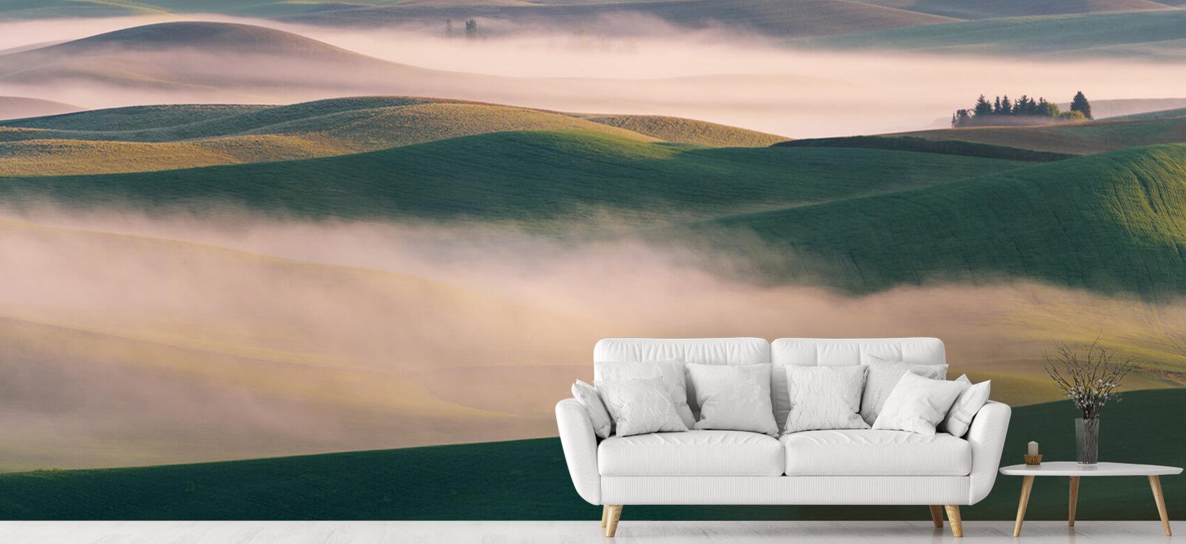 Landschap Dream Land in Morning Mist 5