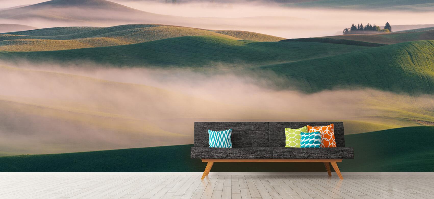 Landschap Dream Land in Morning Mist 12