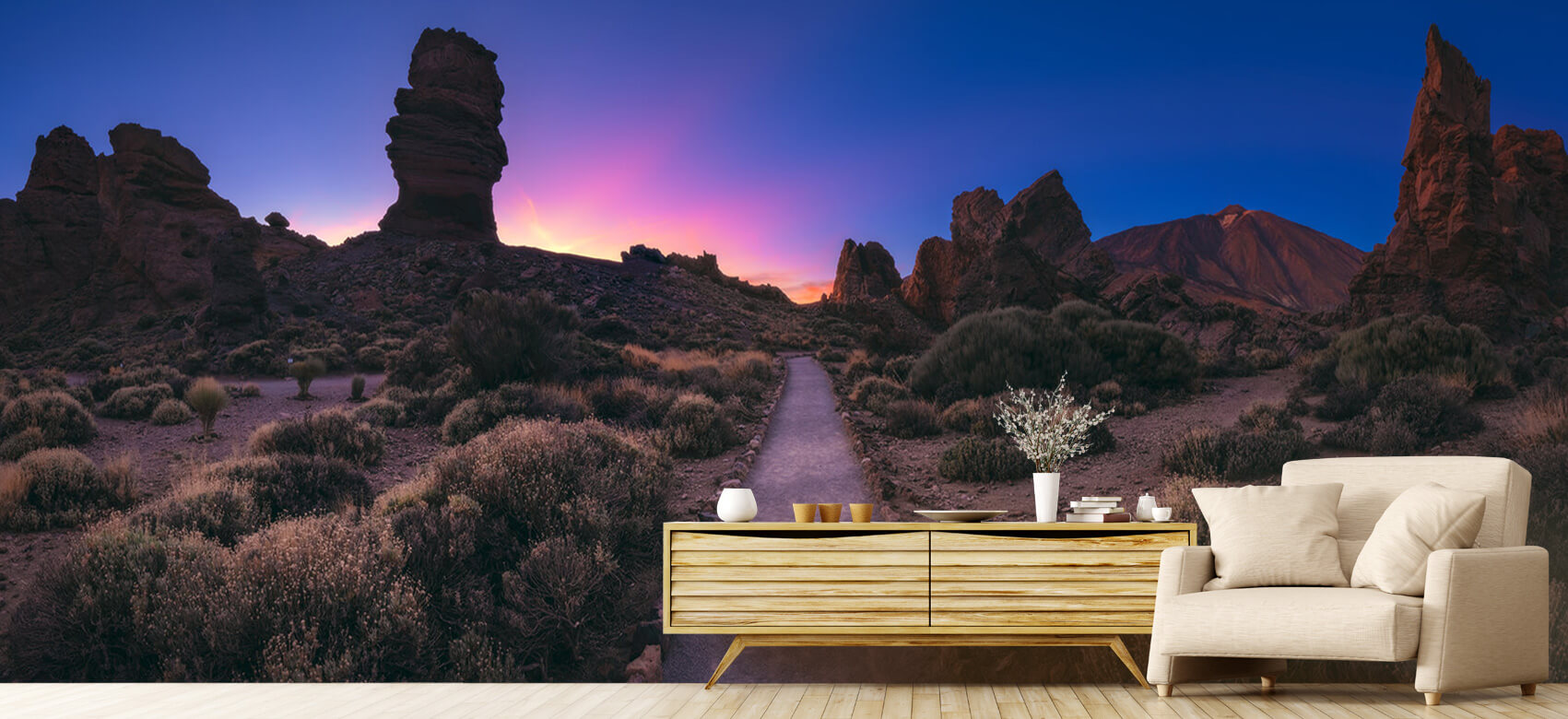 Landscape Tenerife - Canadas del Teide Panorama 4