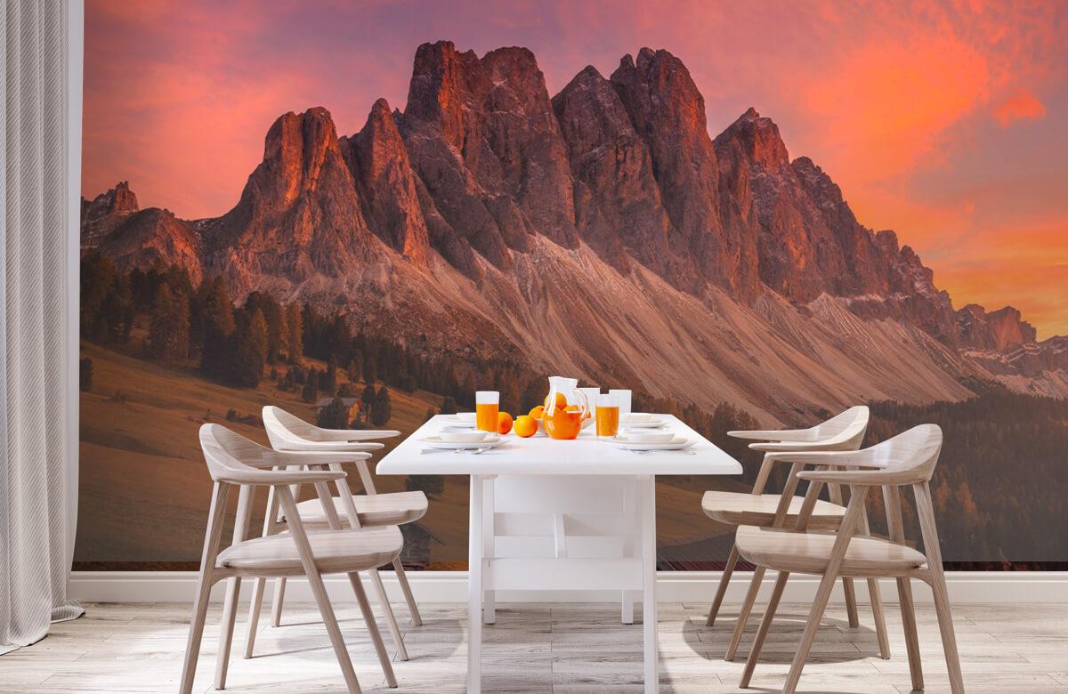 Landscape Cabins In The Dolomites 1