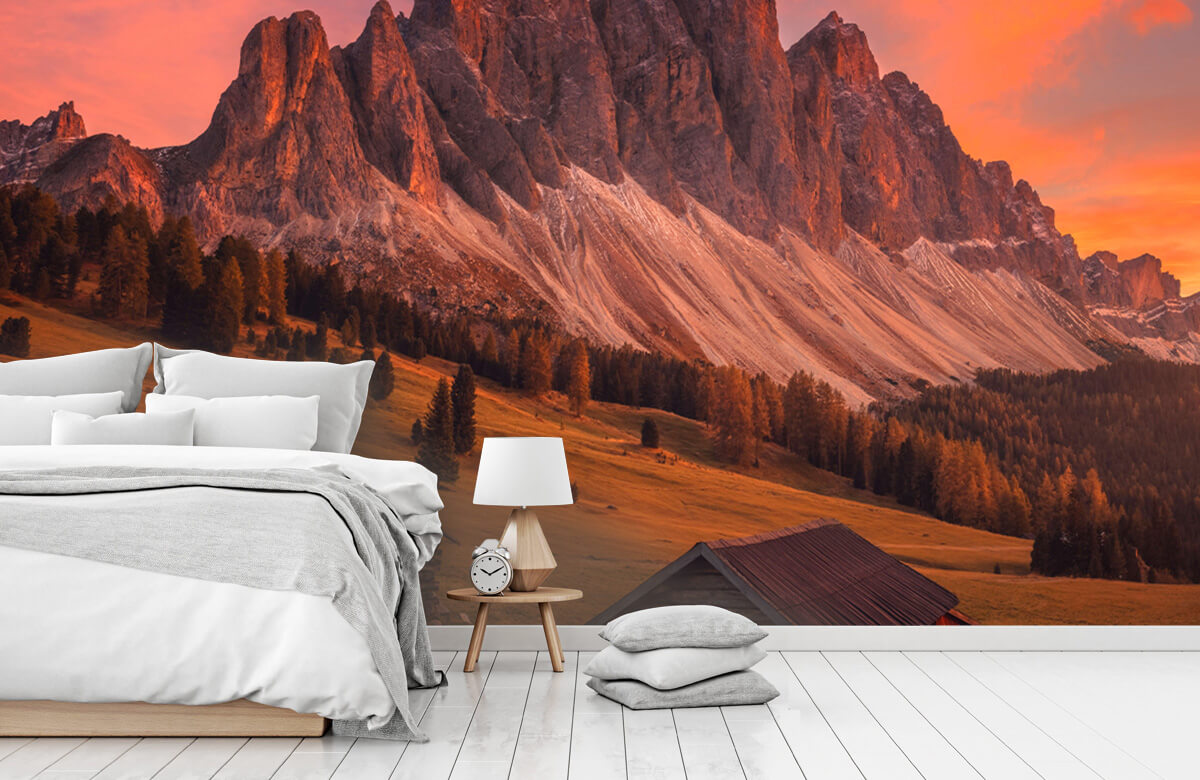 Landscape Cabins In The Dolomites 11