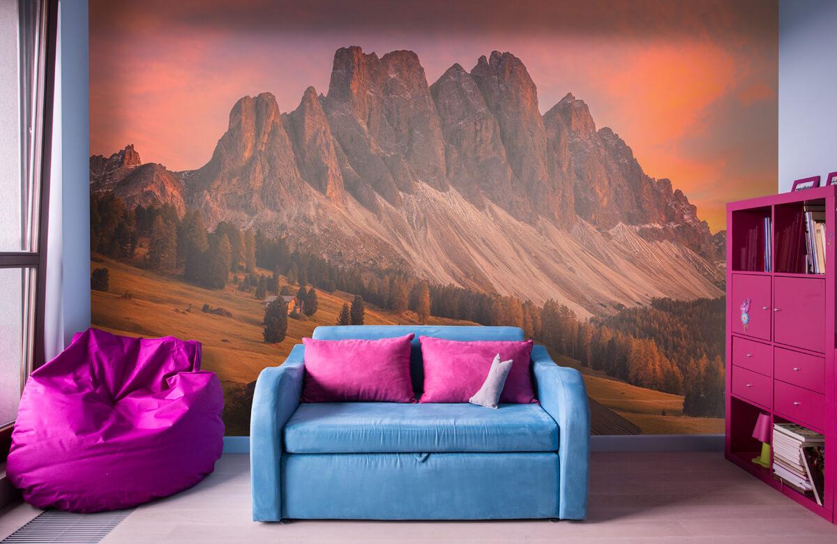 Landscape Cabins In The Dolomites 3