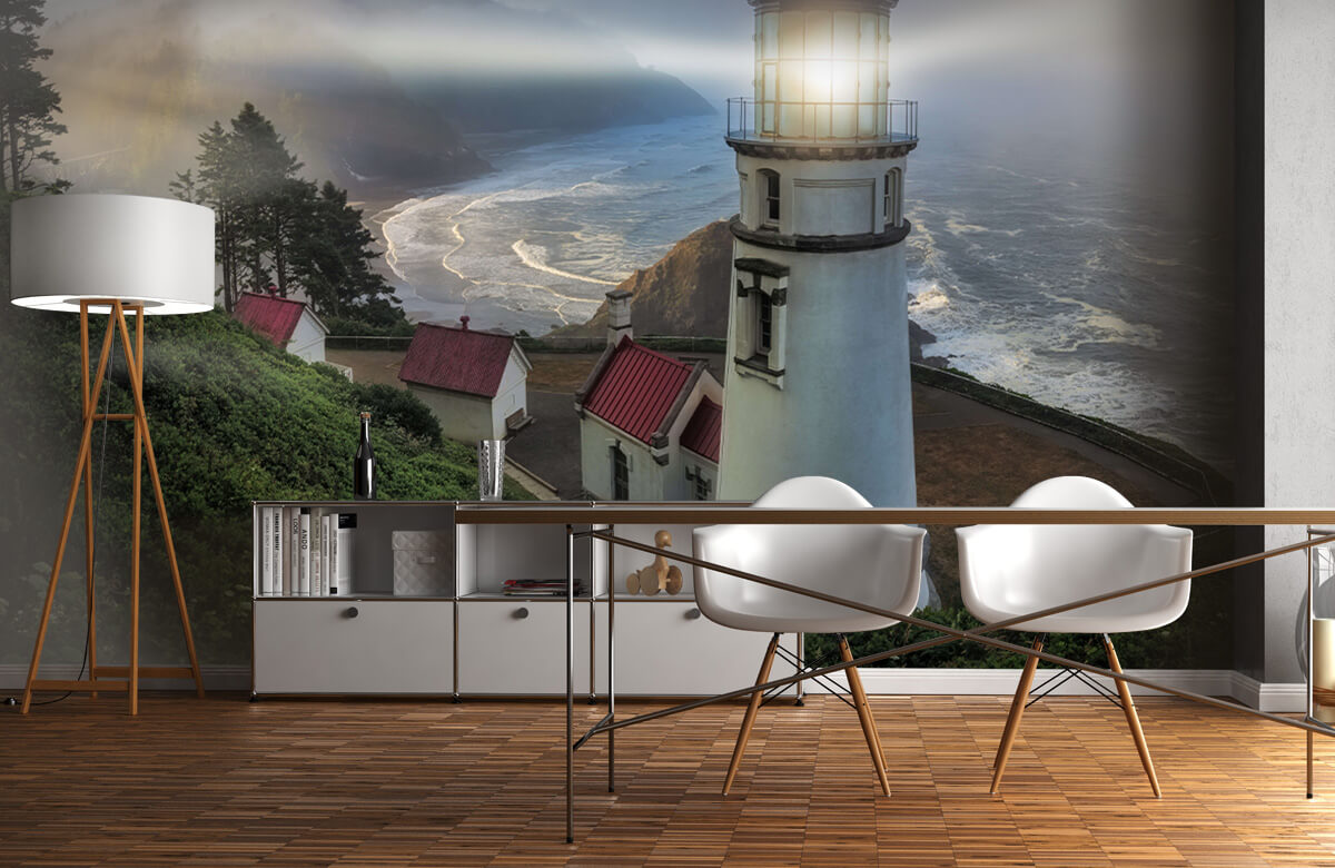 Architecture Heceta Head Lighthouse 4