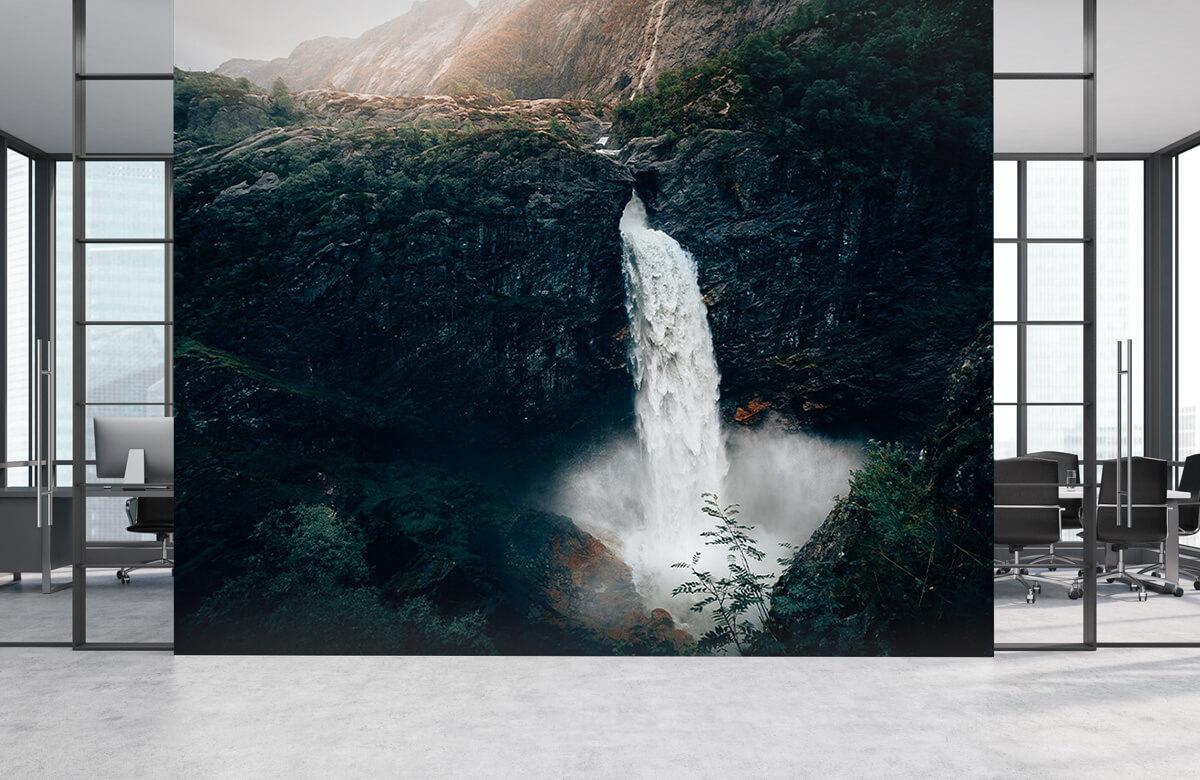 Wallpaper Une impressionnante chute d'eau 5