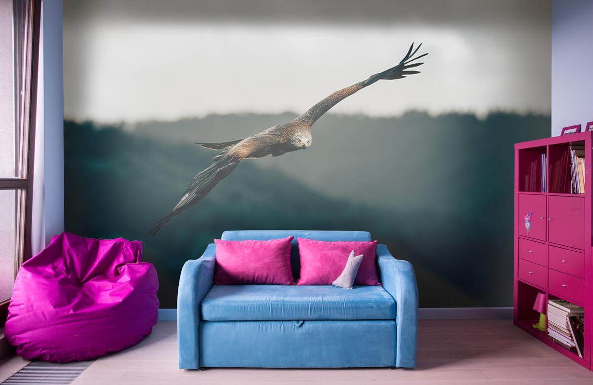 Wallpaper Cerf-volant rouge 4