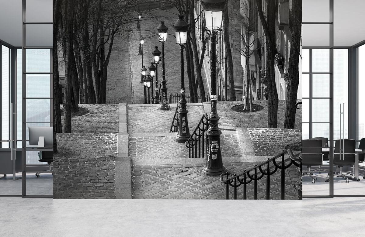 Soirée tranquille à Montmartre 6