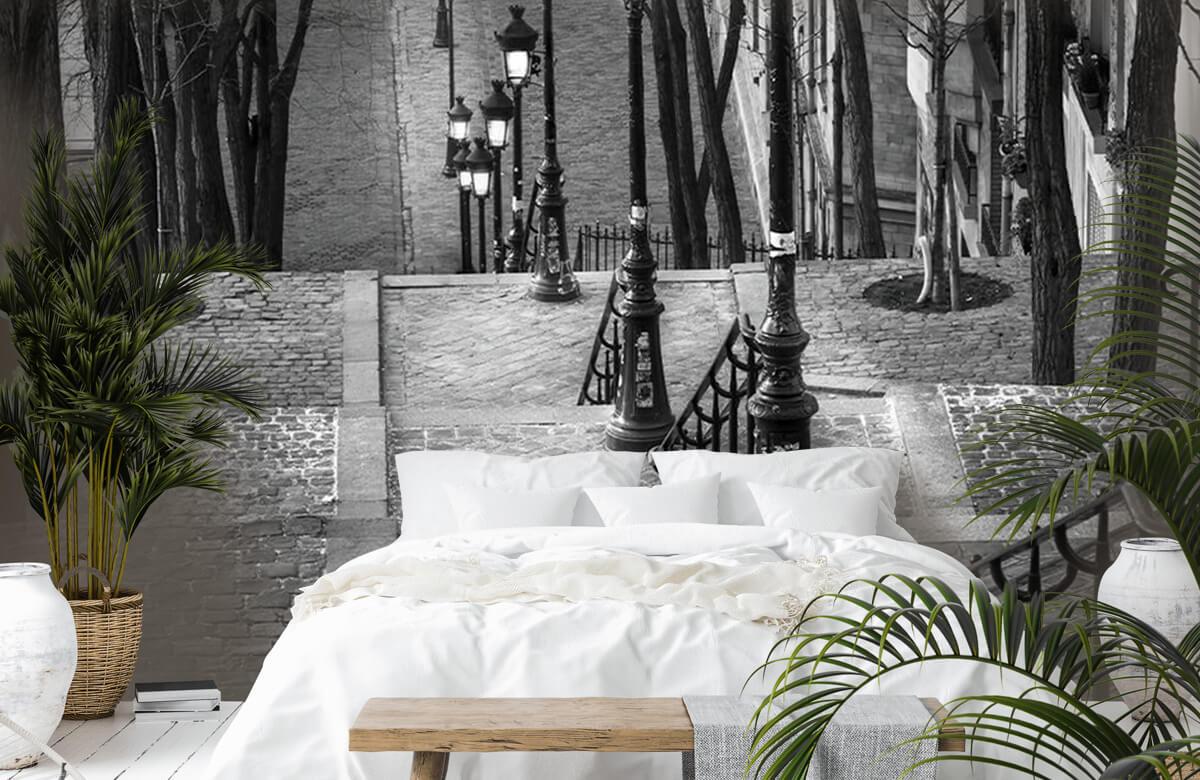 Soirée tranquille à Montmartre 8