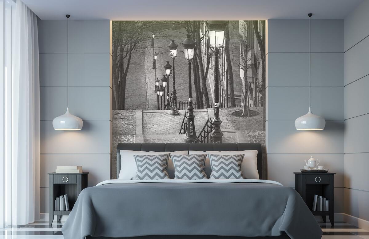 Soirée tranquille à Montmartre 11