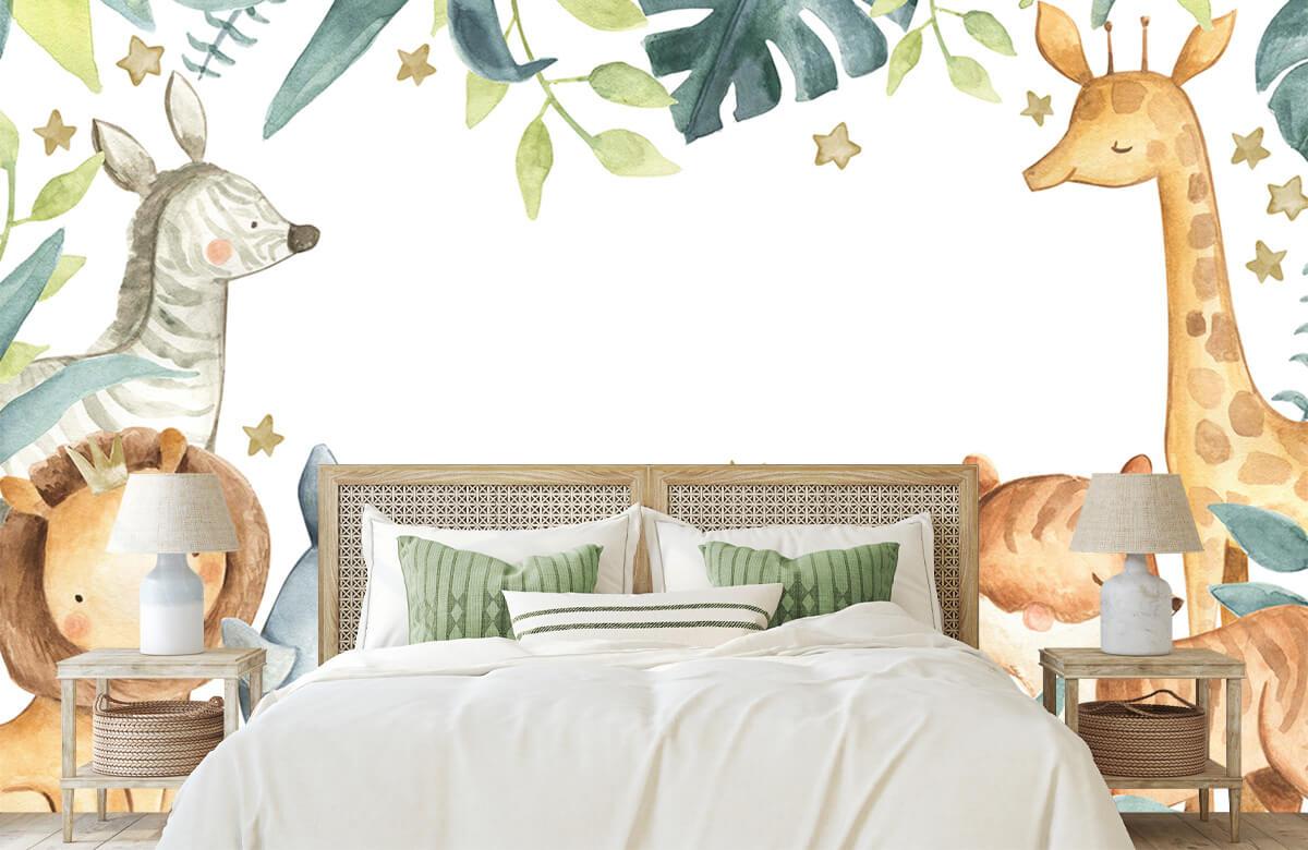wallpaper Assortiment d'animaux de la jungle 5