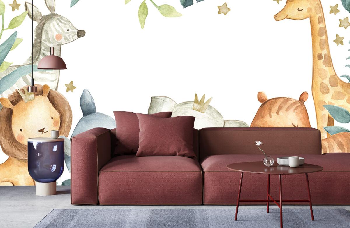 wallpaper Assortiment d'animaux de la jungle 6