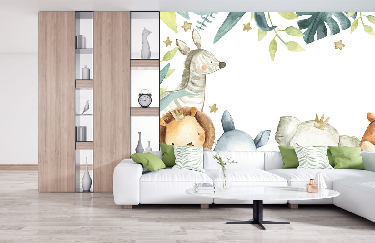 wallpaper Assortiment d'animaux de la jungle 11